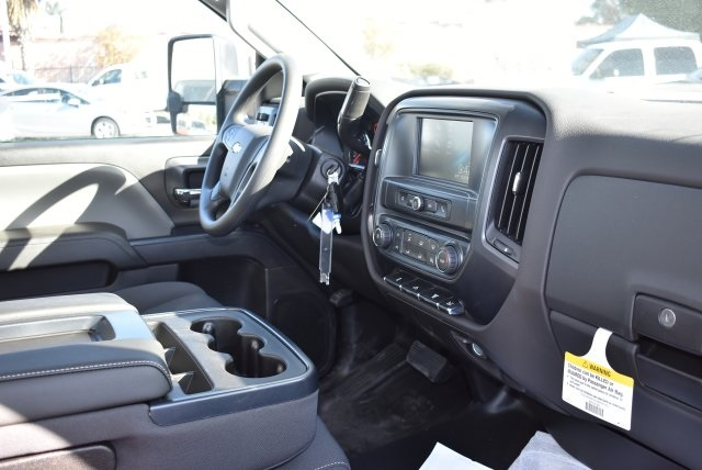 2018 Silverado 3500 Regular Cab DRW 4x2,  Harbor Contractor Body #M18205 - photo 14