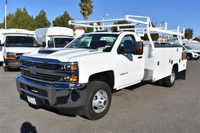 2018 Silverado 3500 Regular Cab DRW 4x2,  Harbor ComboMaster Combo Body #M18209 - photo 5