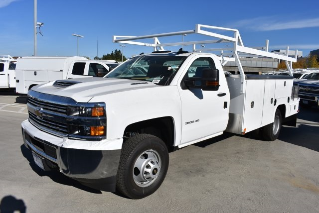 2018 Silverado 3500 Regular Cab DRW 4x2,  Harbor Combo Body #M18210 - photo 4