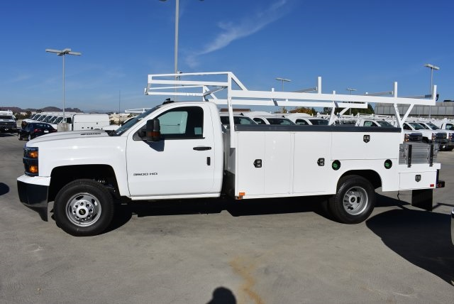 2018 Silverado 3500 Regular Cab DRW 4x2,  Harbor Combo Body #M18210 - photo 5