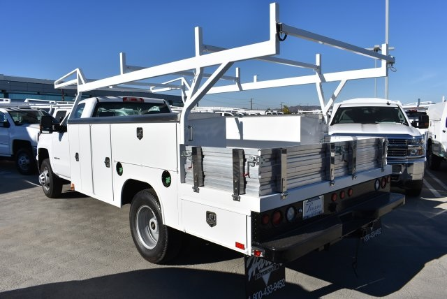 2018 Silverado 3500 Regular Cab DRW 4x2,  Harbor Combo Body #M18210 - photo 6