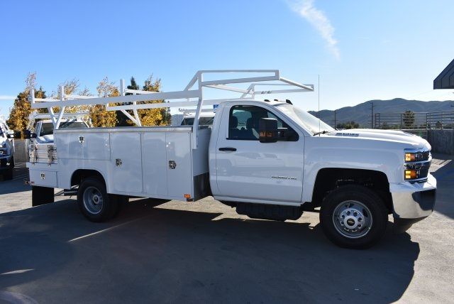 2018 Silverado 3500 Regular Cab DRW 4x2,  Harbor Combo Body #M18210 - photo 8