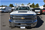 2018 Silverado 3500 Regular Cab DRW, Harbor Standard Contractor Contractor Body #M18214 - photo 3