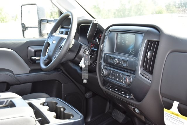 2018 Silverado 3500 Regular Cab DRW 4x2,  Harbor Contractor Body #M18215 - photo 15