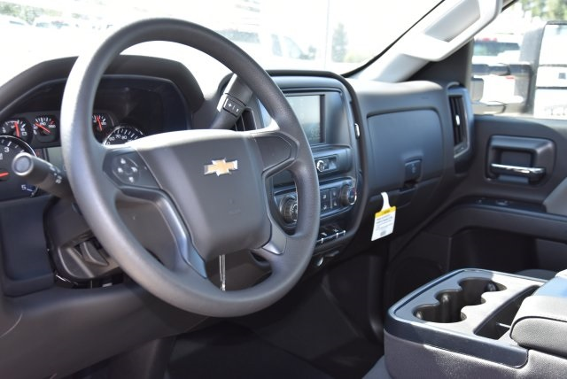 2018 Silverado 3500 Regular Cab DRW 4x2,  Harbor Contractor Body #M18215 - photo 18