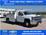 2018 Silverado 3500 Regular Cab DRW, Harbor Standard Contractor Contractor Body #M18215 - photo 1