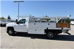 2018 Silverado 3500 Regular Cab DRW, Harbor Standard Contractor Contractor Body #M18215 - photo 5