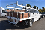 2018 Silverado 3500 Regular Cab DRW, Harbor Standard Contractor Contractor Body #M18215 - photo 2