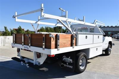2018 Silverado 3500 Regular Cab DRW 4x2,  Harbor Standard Contractor Body #M18254 - photo 2