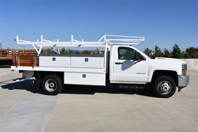 2018 Silverado 3500 Regular Cab DRW 4x2,  Harbor Standard Contractor Body #M18254 - photo 10