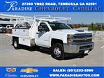 2018 Silverado 3500 Regular Cab DRW 4x2,  Harbor Contractor Body #M18254 - photo 1