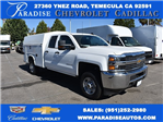 2018 Silverado 2500 Double Cab 4x2,  Harbor TradeMaster Utility #M18305 - photo 1