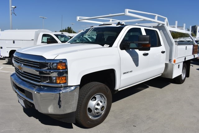 2018 Silverado 3500 Crew Cab DRW, Harbor Standard Contractor Contractor Body #M18331 - photo 5