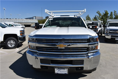 2018 Silverado 3500 Crew Cab DRW, Harbor Standard Contractor Contractor Body #M18331 - photo 4