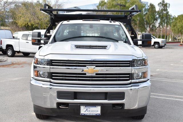 2018 Silverado 3500 Regular Cab DRW 4x2,  Knapheide Contractor Body #M18382 - photo 4
