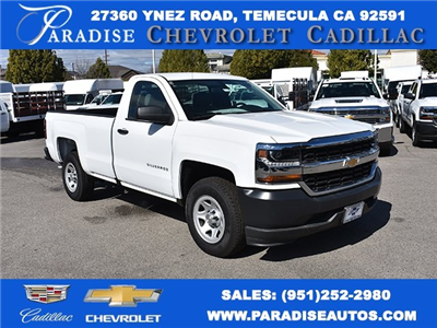 2018 Silverado 1500 Regular Cab, Pickup #M18389 - photo 1