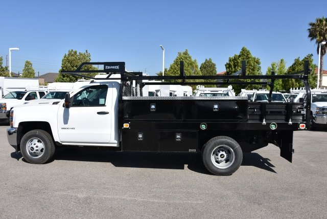2018 Silverado 3500 Regular Cab DRW 4x2,  Knapheide Contractor Body #M18393 - photo 5