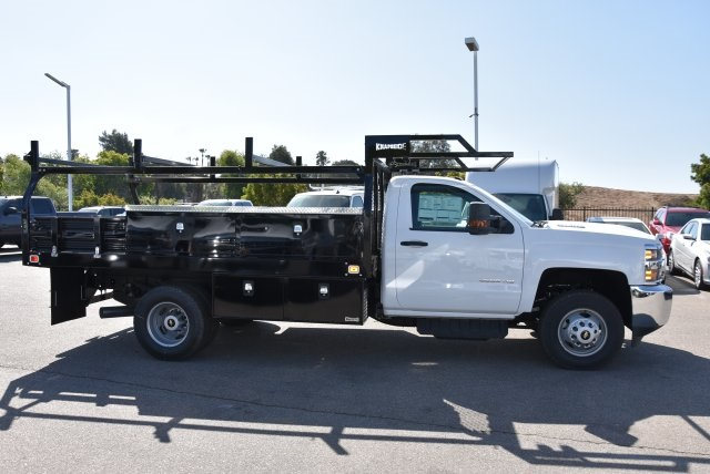 2018 Silverado 3500 Regular Cab DRW 4x2,  Knapheide Contractor Body #M18393 - photo 8
