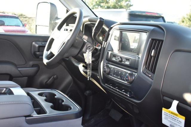 2018 Silverado 3500 Regular Cab DRW 4x2,  Royal Flat/Stake Bed #M18404 - photo 11