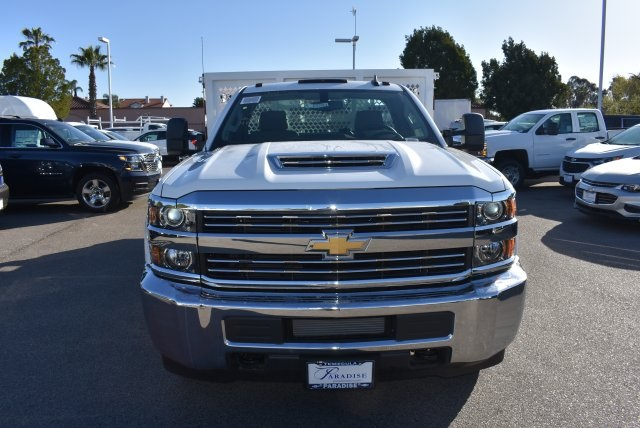 2018 Silverado 3500 Regular Cab DRW 4x2,  Royal Flat/Stake Bed #M18404 - photo 4