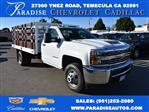 2018 Silverado 3500 Regular Cab DRW 4x2,  Royal Flat/Stake Bed #M18404 - photo 1