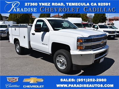 2018 Silverado 2500 Regular Cab,  Harbor TradeMaster Utility #M18408 - photo 1