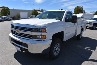 2018 Silverado 2500 Regular Cab,  Harbor TradeMaster Utility #M18408 - photo 4