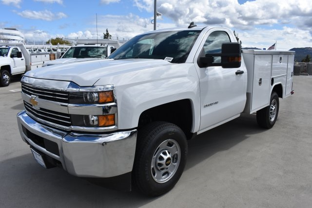 2018 Silverado 2500 Regular Cab 4x2,  Harbor Utility #M18410 - photo 5