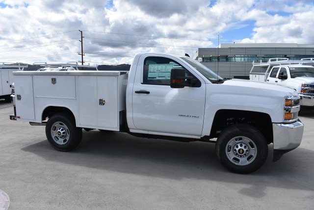 2018 Silverado 2500 Regular Cab 4x2,  Harbor Utility #M18410 - photo 9