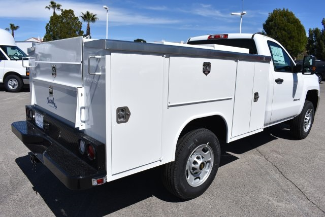 2018 Silverado 2500 Regular Cab 4x2,  Harbor Utility #M18427 - photo 2