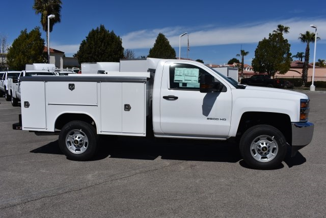 2018 Silverado 2500 Regular Cab 4x2,  Harbor Utility #M18427 - photo 8