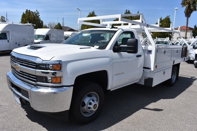 2018 Silverado 3500 Regular Cab DRW 4x2,  Royal Contractor Body #M18428 - photo 4
