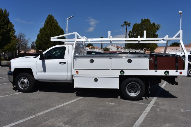 2018 Silverado 3500 Regular Cab DRW 4x2,  Royal Contractor Body #M18432 - photo 6