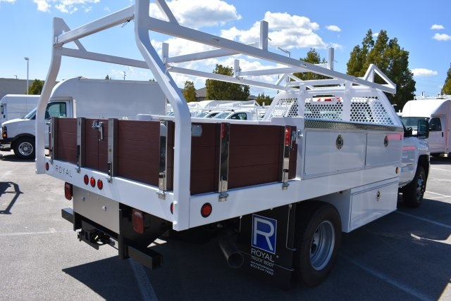 2018 Silverado 3500 Regular Cab DRW 4x2,  Royal Contractor Body #M18432 - photo 2