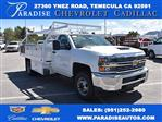 2018 Silverado 3500 Regular Cab DRW 4x2,  Royal Contractor Body #M18432 - photo 1