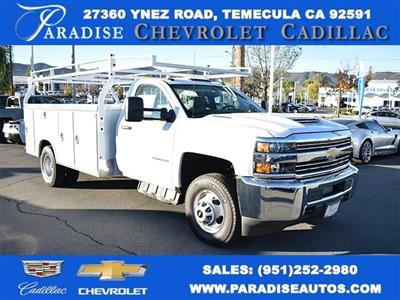 2018 Silverado 3500 Regular Cab DRW,  Royal Stake Bed Bodies Flat/Stake Bed #M18439 - photo 1