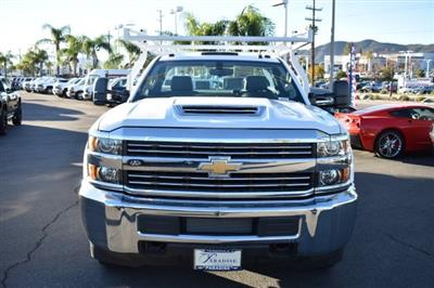 2018 Silverado 3500 Regular Cab DRW,  Royal Stake Bed Bodies Flat/Stake Bed #M18439 - photo 3