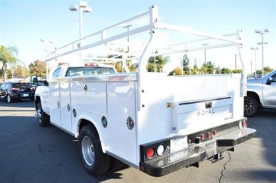 2018 Silverado 3500 Regular Cab DRW,  Royal Stake Bed Bodies Flat/Stake Bed #M18439 - photo 4