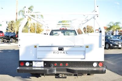 2018 Silverado 3500 Regular Cab DRW,  Royal Stake Bed Bodies Flat/Stake Bed #M18439 - photo 5