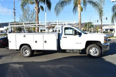 2018 Silverado 3500 Regular Cab DRW,  Royal Stake Bed Bodies Flat/Stake Bed #M18439 - photo 7