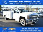 2018 Silverado 3500 Regular Cab DRW 4x2,  Royal Flat/Stake Bed #M18439 - photo 1