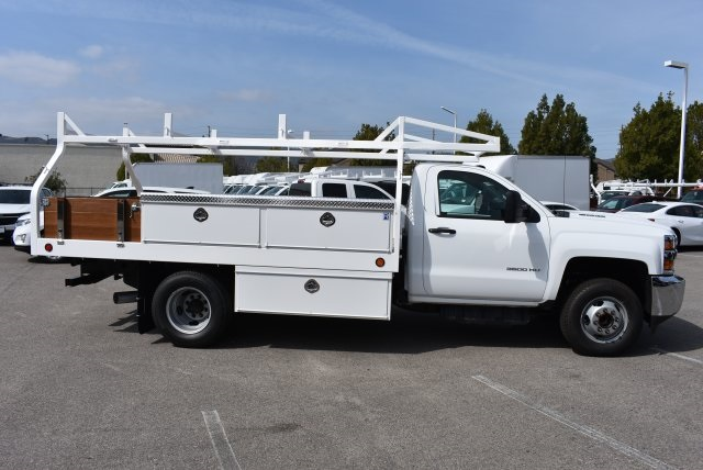 2018 Silverado 3500 Regular Cab DRW 4x2,  Royal Contractor Body #M18456 - photo 8