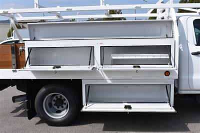 2018 Silverado 3500 Regular Cab DRW,  Royal Contractor Bodies Contractor Body #M18456 - photo 9