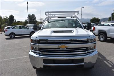 2018 Silverado 3500 Regular Cab DRW,  Royal Contractor Bodies Contractor Body #M18456 - photo 3