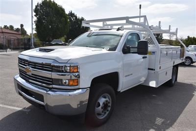 2018 Silverado 3500 Regular Cab DRW,  Royal Contractor Bodies Contractor Body #M18456 - photo 4
