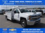 2018 Silverado 3500 Regular Cab DRW 4x2,  Royal Contractor Body #M18456 - photo 1