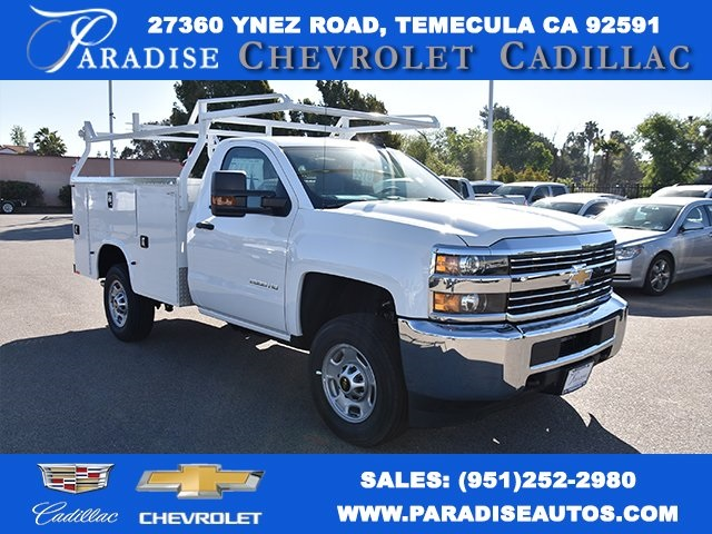 2018 Silverado 2500 Regular Cab,  Knapheide Standard Service Body Utility #M18467 - photo 1
