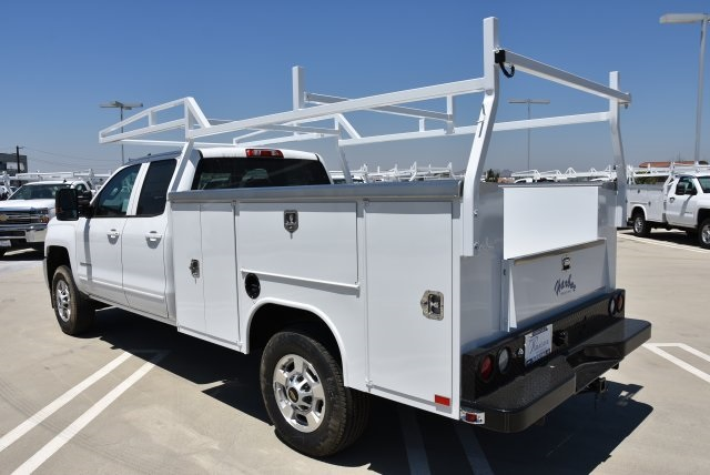 2018 Silverado 2500 Double Cab 4x2,  Harbor Utility #M18469 - photo 7