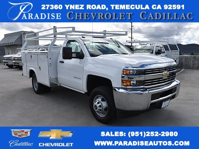 2018 Silverado 3500 Regular Cab DRW, Royal Service Bodies Utility #M18481 - photo 1