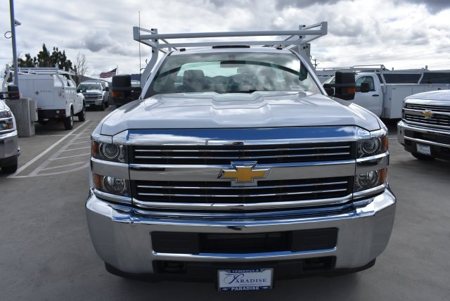 2018 Silverado 3500 Regular Cab DRW, Royal Service Bodies Utility #M18481 - photo 4